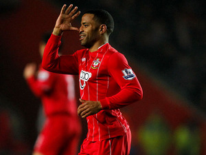 Southampton's Jason Puncheon celebrates scoring the opening goal in his team's match against Manchester City on February 9, 2013