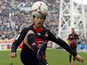 Nice player Dario Cvitanich on November 11, 2012