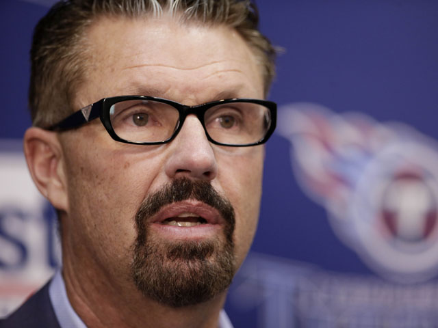 Tennessee Titans new senior defensive assistant Gregg Williams at a press conference on February 7, 2013