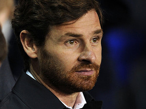 Tottenham Hotspur's Andre Villas-Boas during the Europa League match against Lyon on February 14, 2013