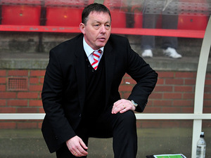 New Forest boss Billy Davies in the dugout during the match against Bolton on February 16, 2013