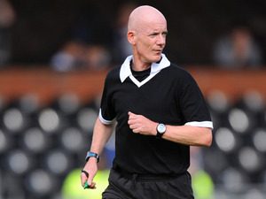 Referee Dermot Gallagher during The London Legends Cup match between Chelsea and Fulham on May 29, 2011