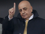 AC Milan vice president Adriano Galliani in the stand during his side's game against Bologna on December 11, 2011