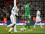 Swansea City's Jonathan de Guzman celebrates scoring his side's fifth goal of the game on February 24, 2013
