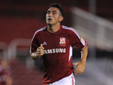 Swindon Town player Gary Roberts on August 8, 2012