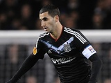 Lyon midfielder Maxime Gonalons in action against Tottenham on February 14, 2013