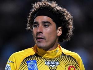 Ajaccio goalie <b>Guillermo Ochoa</b> in action against Marseille on October 22, <b>...</b> - guillermo-ochoa-ajaccio