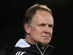 Bristol City manager Sean O'Driscoll during his side's match with Crystal Palace on February 19, 2013