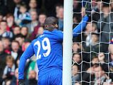 Chelsea's Demba Ba celebrates scoring against West Brom on March 2, 2013