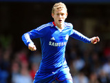 Chelsea player George Saville during an FA Youth Cup match on April 10, 2011