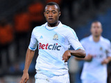 Marseille's Jordan Ayew during their match with Ajaccio on October 22, 2011