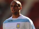 Aston Villa player Jordan Bowery on September 22, 2012