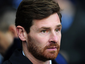 Spurs boss Andre Villas-Boas prior to kick-off against Arsenal on March 3, 2013