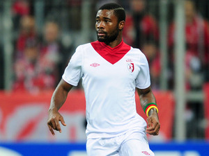 Lille's Aurelien Chedjou during his side's match against Bayern Munich on November 7, 2012
