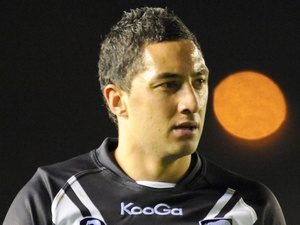 New Zealand's Benji Marshall playing against Australia on October 24, 2009