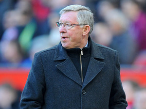 Manchester United manager Sir Alex Ferguson during his side's match against Norwich on March 2, 2013