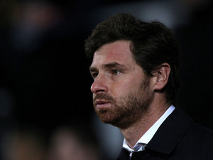 Tottenham Hotspur manager Andre Villas-Boas prior to kick-off against West Ham on February 25, 2013