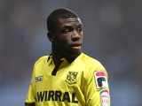 Tranmere Rovers player Abdulai Bell-Baggie during his side's match against Coventry on January 16, 2013