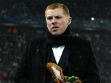 Celtic manager Neil Lennon before his side's match against Juventus on March 6, 2013