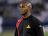 Quinton Fortune during a warm-up on September 15, 2009