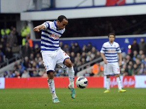 QPR's Andros Townsend scores his side's second goal in their match against Sunderland on March 9, 2013