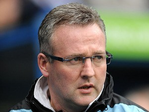 Aston Villa manager Paul Lambert before his side's match against Reading on March 9, 2013