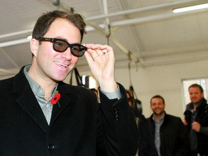 Boxing Promoter Eddie Hearn on November 6, 2012
