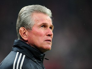 Bayern boss Jupp Heynckes ahead of the Champions League match against Arsenal on March 13, 2013