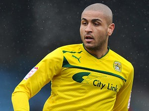 Coventry's Leon Clarke in action on March 9, 2013