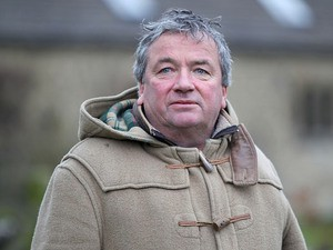 Nigel Twiston-Davies during a stables visit on February 25, 2013