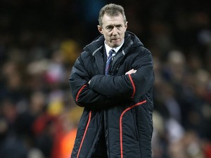 Wales head coach Rob Howley before the Six Nations match against England on March 16, 2013
