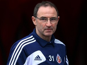 Sunderland manager Martin O'Neill prior to his side's match with Norwich City on March 17, 2013