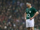 Ireland's Brian O'Driscoll in action against France on March 10, 2013