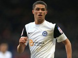 Peterborough United player Kane Ferdinand during a Championship match on January 12, 2013