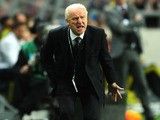 Republic of Ireland's coach Giovanni Trapattoni during his team's World Cup qualifier with Sweden on March 22, 2013