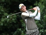 Germany's Marcel Siem during day one of the 2012 Open Championship July 19, 2012