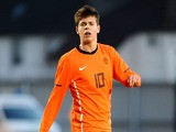 Marco van Ginkel of the Netherlands during a qualifying match for the European Under 21 Championship on February 29, 2012