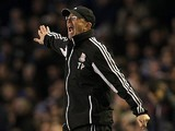Stoke boss Tony Pulis on the touchline during the match against Everton on March 30, 2013