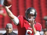 Tampa Bay's Dan Orlovsky in action on November 25, 2012