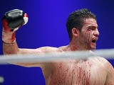 Manuel Charr of Germany reacts after losing a against Vitali Klitschko on September 9, 2012