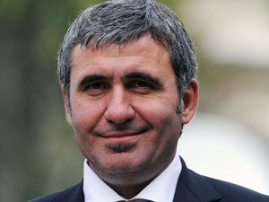 Galatasaray's newly appointed soccer coach Gheorghe Hagi on October 22, 2010