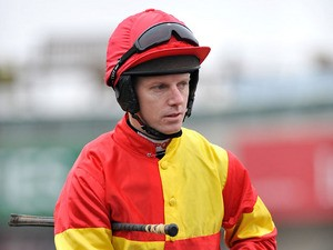 Jockey Noel Fehily during The Paddy Power Imperial Cup Day on March 9, 2013