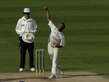 Yorkshire's Adil Rashid bowls a delivery during his side's match against Worcestershire on April 10, 2011