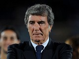 Dino Zoff before kick off on October 11, 2011