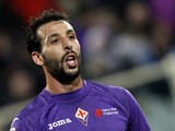 Fiorentina's Mounir El Hamdaoui in action on December 2, 2012