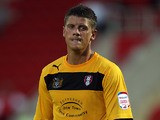Rotherham's Alex Revell in action on July 24, 2012