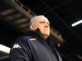 Fulham boss Martin Jol on the touchline during the match against Chelsea on April 17, 2013