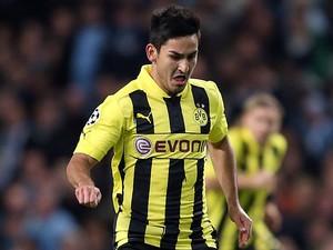 Dortmund's Ilkay Gundogan on action on October 3, 2012