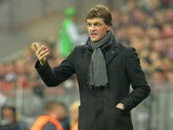 Barcelona coach Tito Vilanova during the Champions League match against Bayern Munich on April 23, 2013
