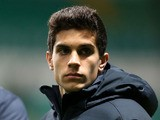 FC Barcelona's Marc Bartra before the match against Celtic on November 7, 2012